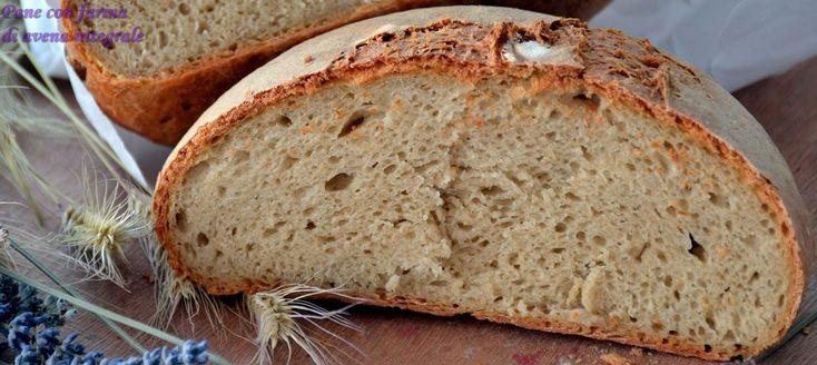 Pane con farina di avena integrale