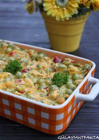 Bu kadar tatlı tarifin ardından salata tarifi gelsin mi :) Adını yazarken karar veremedim bezelyeli havuç mu? havuçlu bezelye mi? İlk yap...