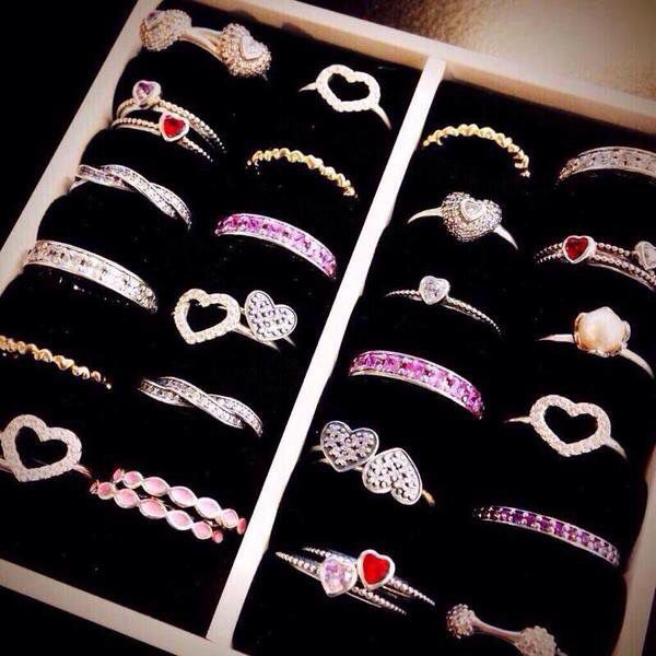 Pandora Valentine's Day rings
