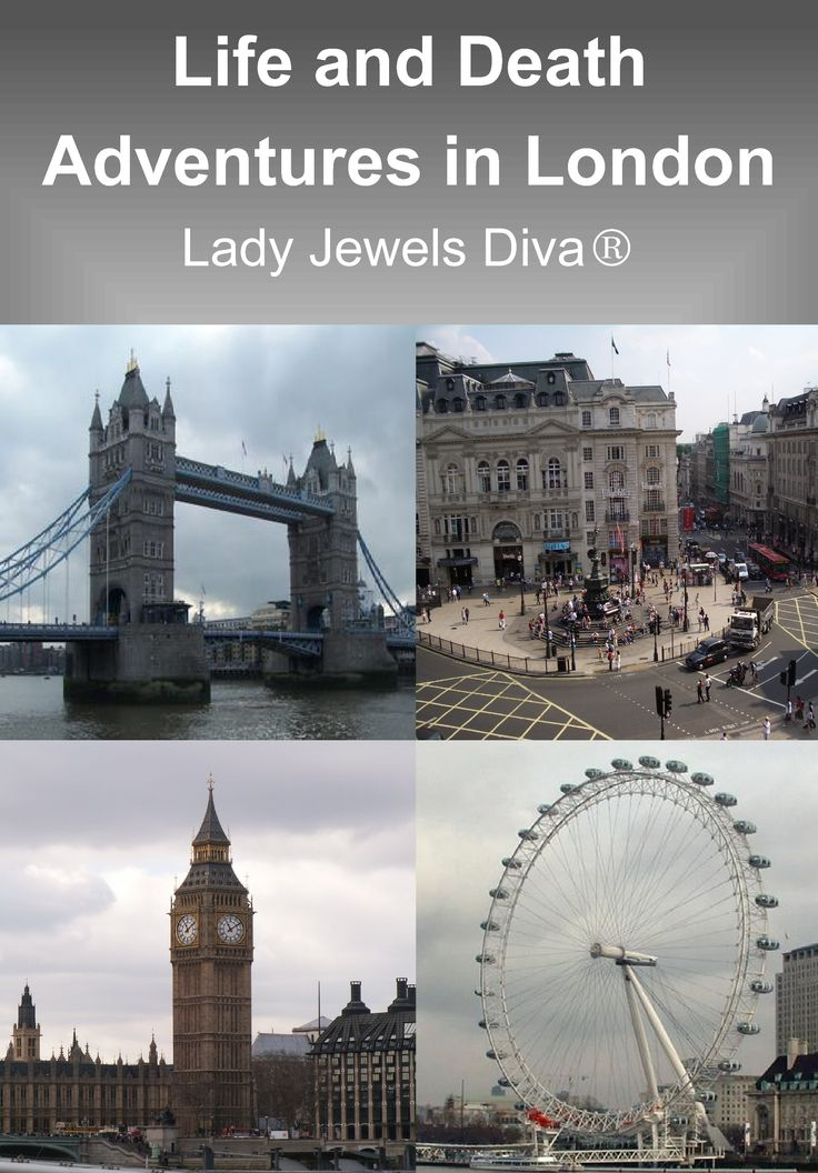 COVER 2 - Life and Death Adventures in London