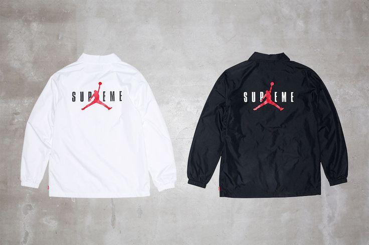Supreme Jordan Apparel Collection | Jacket
