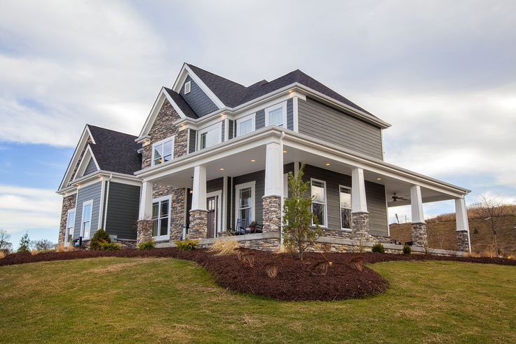 Aspen Model Home Cranberry Twp Pa Craftsman Exterior
