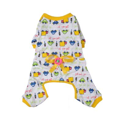 Dog Pajamas - FREE Shipping Worldwide - Get your pet ready for bed with this adorable outfit and watch them sleep the night away.