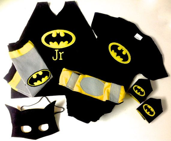 The Ultimate Baby Batman super hero outfit/ by MelissasStitches, $75.00