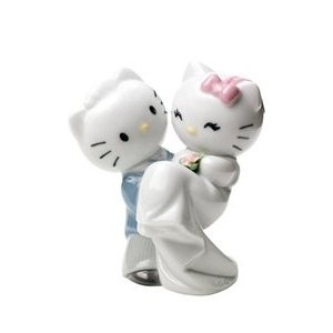 Nao by Lladro Hello Kitty Gets Married