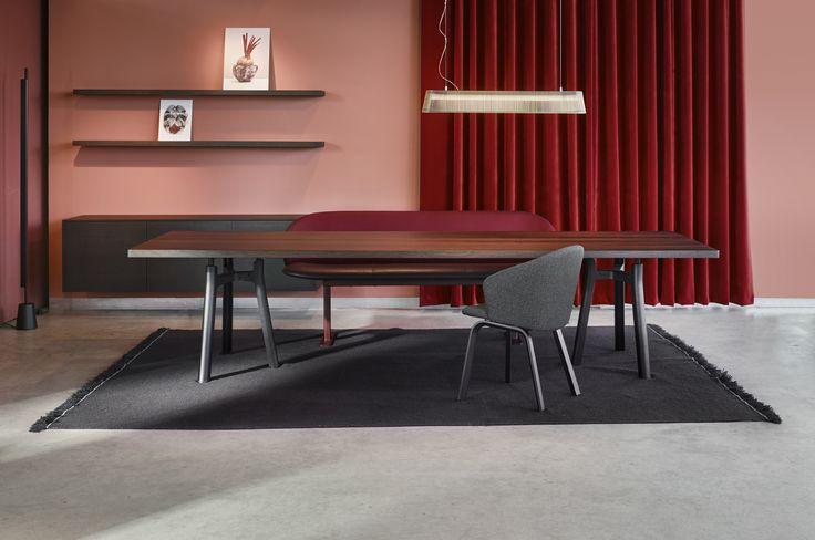 Arco | We Make Tables #Trestle #Design #Close #Secto #Sfeer #Inspiration
