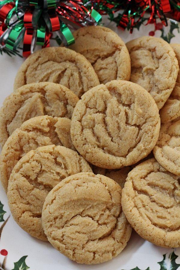 Jam Hands: Soft & Chewy Rum Crinkle Cookies