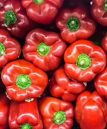 5 Superfoods To Transform Your Skin, Hair and Nails - Red Bell Peppers