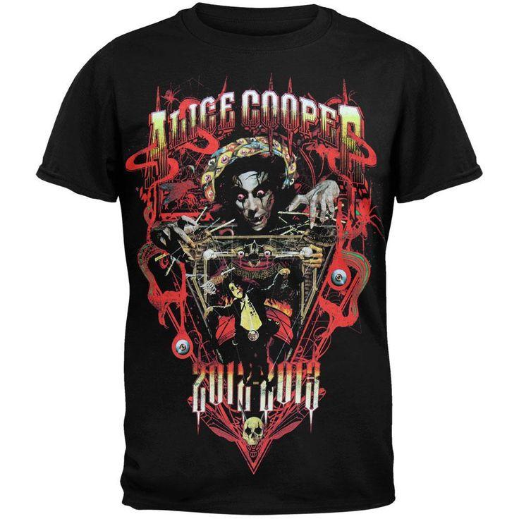 Alice Cooper - Puppet Master Tour T-shirt