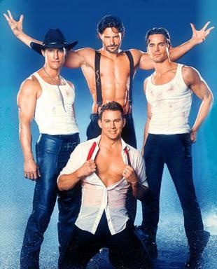 Magic Mike Cast..the only thing that would have made this pic better is if matthew did not have a shirt on! :)
