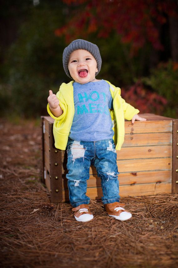 jeans - denim skinny pants boys girls baby - 6-12 12-18 month skinny jeans - 18-24 month skinny jeans on Etsy, $30.00