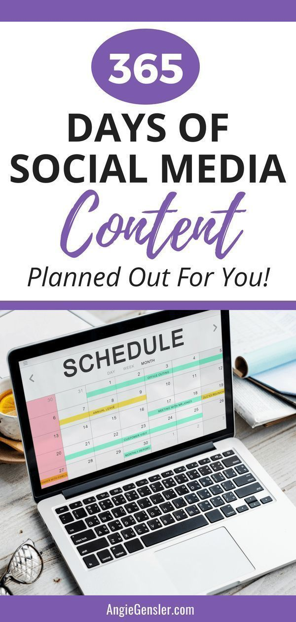 Get Results On Social Media With 365 Days Of Post Ideas And Hundreds Of Images Planned Out For You Marketing Strategy Social Media Social Media Content Calendar Social Media Marketing