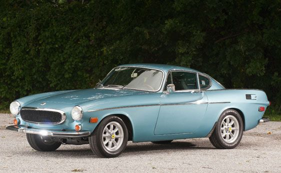 vintage volvo coupe....saw one in LA...want another one is waiting in hh under a bridge. red.
