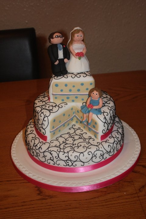 funky wedding cake ideas funky wedding cake just a slice 14530