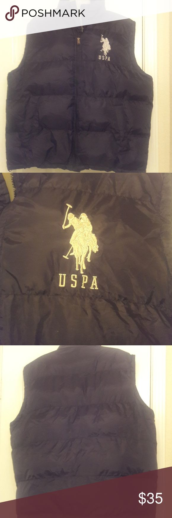 US Polo Association Puffer US Polo Association Puffer Vest outerwear jacket-quilted Polo Association Jackets & Coats Vests