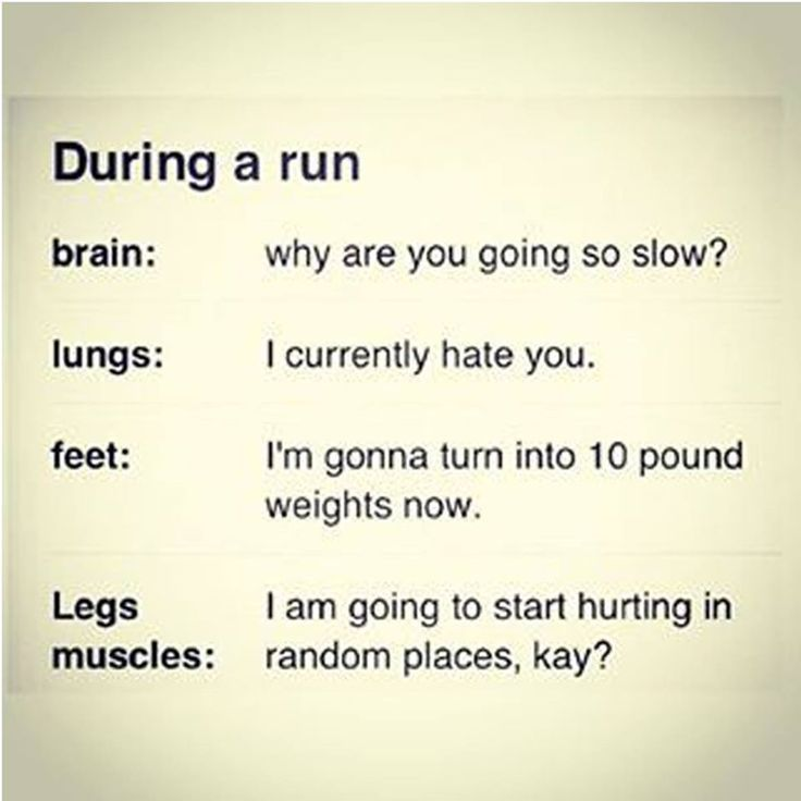 It's a love hate relationship between my body and running. http://nanorunner.com