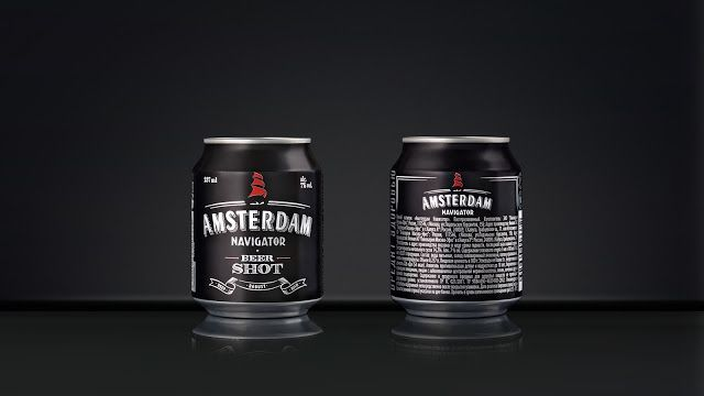 Viewpoint - Amsterdam Navigator Beer Shot #packaging #design — World Packaging Design Society / 世界包裝設計社會 / Sociedad Mundial de Diseño de Empaques