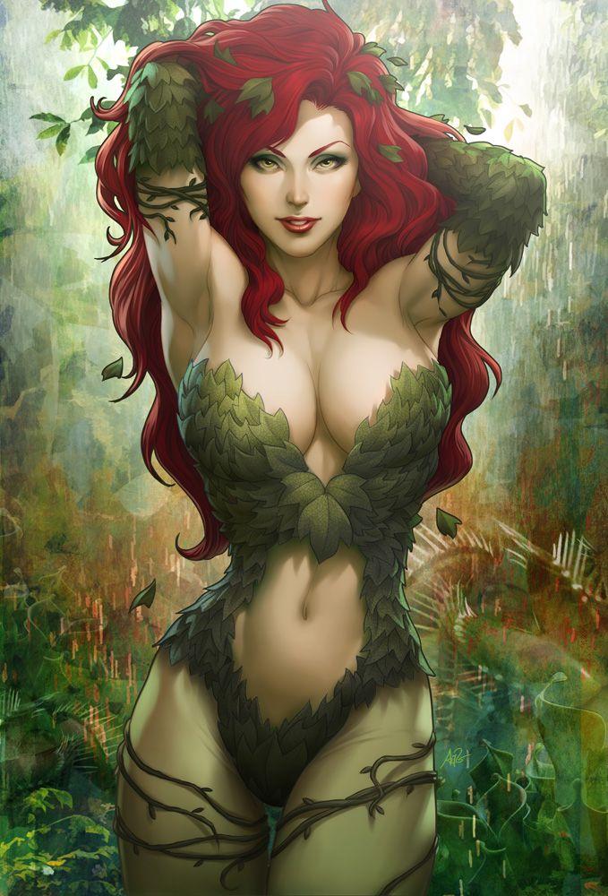 Poison Ivy Sideshow Art by `Artgerm on deviantART....