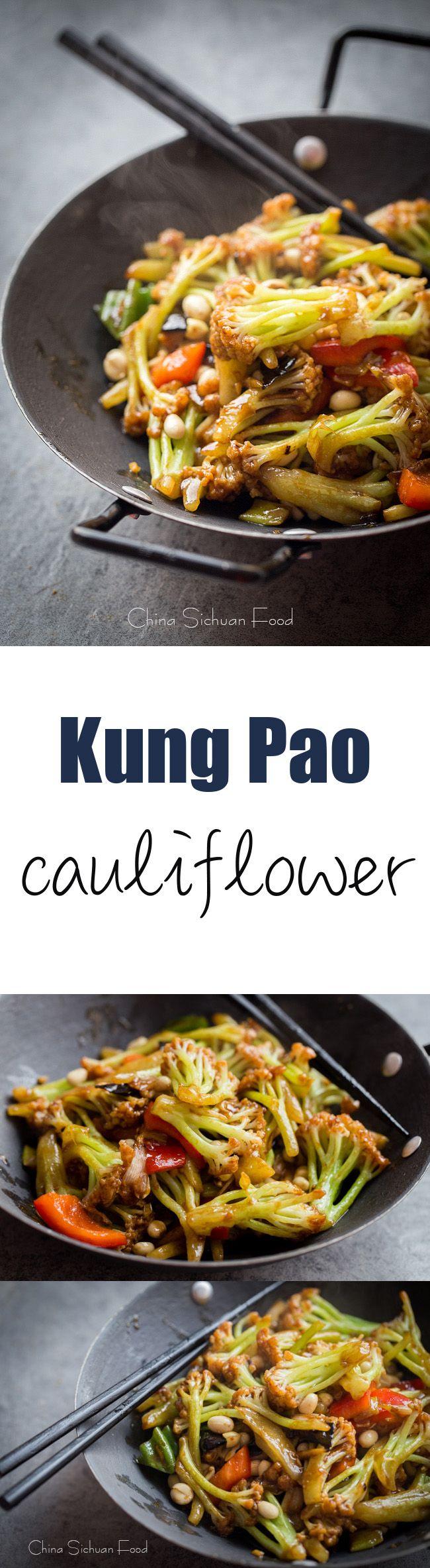 Kung Pao #cauliflower