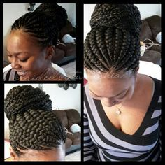 Crochet Braids Ghana : ... on Pinterest Ghana braids, African american hair and Crochet braids