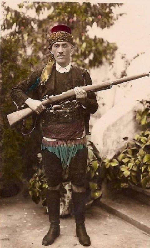 Kuva-yi Milliye kahramanlarından Demirci Mehmet Efe.