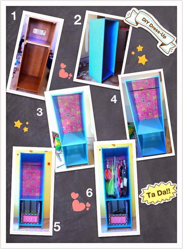 Closet Penteadeira para meninas dress-up station