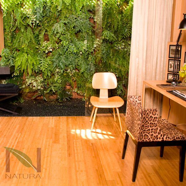 Piso de Madera: Bambú Horizontal Café Mate. Categoría: Bamboo. Funcionamiento: Interiores