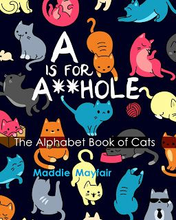 http://catsreadmysteries.blogspot.com/2017/03/utterly-shameless-is-for-ahole-alphabet.html  #funny #cats #lolcats Butterball is not amused!  https://www.amazon.com/hole-Alphabet-Book-Cats/dp/1544197322?tag=dorishay-20