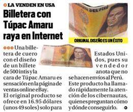 El Trome-billetera/wallet