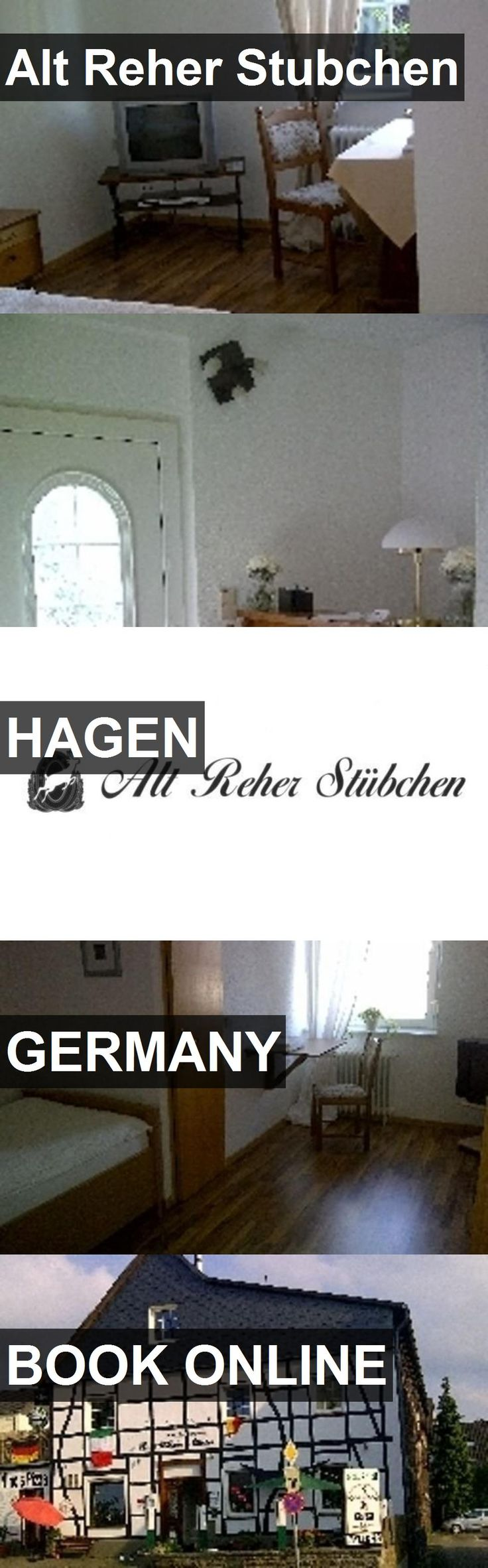 Hotel Alt Reher Stubchen in Hagen, Germany. For more information, photos, reviews and best prices please follow the link. #Germany #Hagen #AltReherStubchen #hotel #travel #vacation