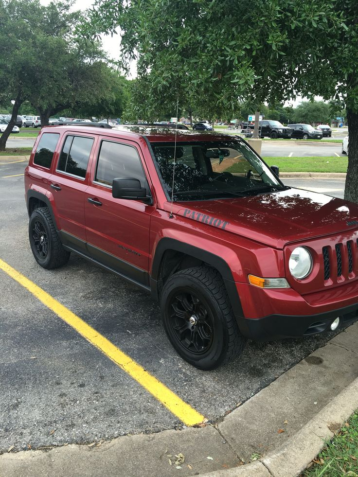 2012 Jeep Patriot lifted. #ATX