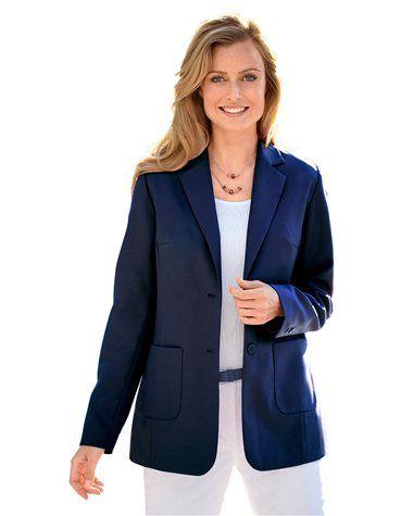Veste manches longues, femme grande taille femme BALSAMIK http://www.castaluna.fr/products/veste-manches-longues-femme/699914/324191545.aspx?defSize=52