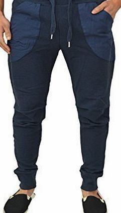 Genetic Apparel Mens Designer Joggers Celebrity Fashion Skinny Slim Stretch Fit Cuffed Jog Sweat Pants Gym Sports Ru Nice smart Skinny fit joggers. Please note these joggers comes in one standard leg length, which is 31 inside leg. X-Small-28 Waist. Small-30 Waist, Medium-32 Wai (Barcode EAN = 5055900436546) http://www.comparestoreprices.co.uk/celebrity-fashion/genetic-apparel-mens-designer-joggers-celebrity-fashion-skinny-slim-stretch-fit-cuffed-jog-sweat-pants-gym-sports-ru.asp