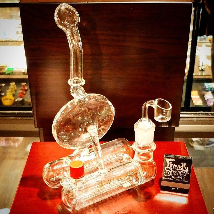 This super neat Nice Glass double horizontal inline diffuser rig AKA The Pontoon is equipped with a glass sidebanger - Only $159.95 #rig #sidebanger #bong #niceglass #friendlystranger #thefriendlystranger #cannabis #cannabisculture #cannabiscultureshop #weed #marijuana #queenstreet #queenwest