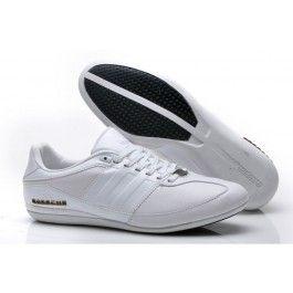 Gratis Forsendelse Adidas Porsche Læder Herre Hvid Sort Sko Online | Adidas Sko Online Til Salg | Sælge Adidas Sko Online | dkfree.com