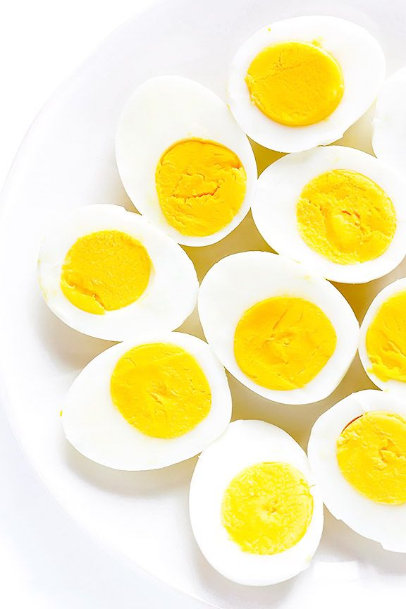 Learn how to make PERFECT hard-boiled eggs every time with this easy step-by-step video and recipe.
