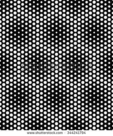 Vector modern seamless sacred geometry pattern dots, black and white abstract geometric background, pillow print, monochrome retro texture, hipster fashion design