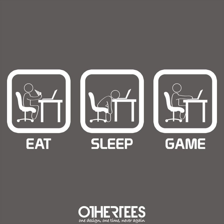 """Eat, Sleep, Game - PC"" by thehookshot Shirt on sale until 25 June on othertees.com Pin it for a chance at a FREE TEE! #pcgames #games"