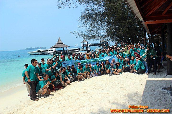 Wisata Pantai Pulau Sepa, Employee Gathering