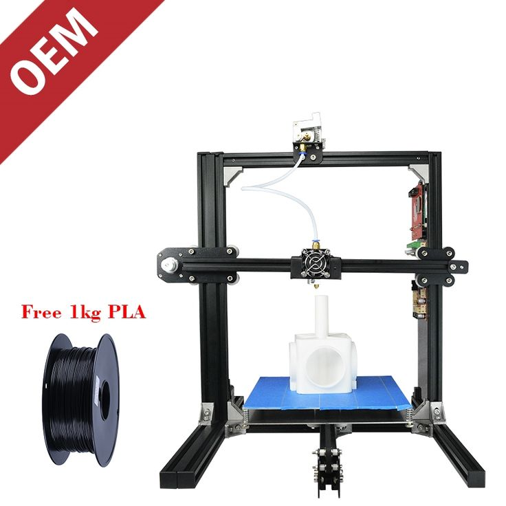 240.00$  Buy here - http://ali7e1.shopchina.info/go.php?t=32808125469 - ET-I3 Make 3D Printer Easy and Cheap Build Your Own DIY 3D Printer Metal Print Frame PLA WOOD Aluminum TPU Flexible Filament 240.00$ #buyininternet