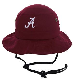 Top of the World Alabama Crimson Tide Crimson Angler Bucket Hat #rolltide #alabama #crimsontide