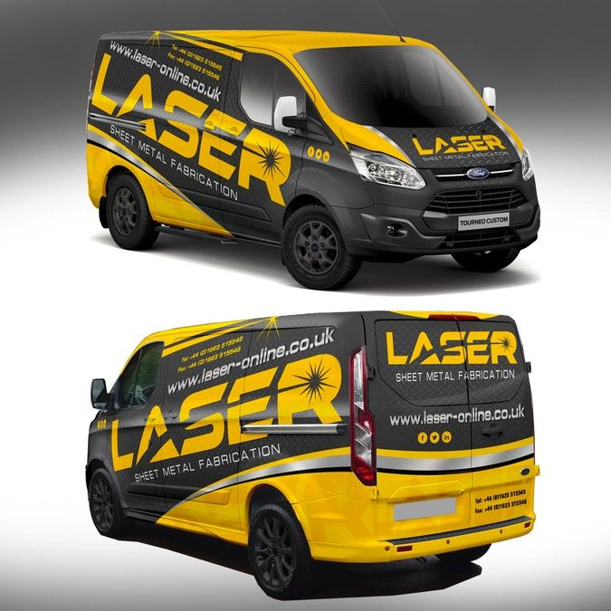 Eye Catching Visually Stunning Vehicle Wrap For Laser Ltd