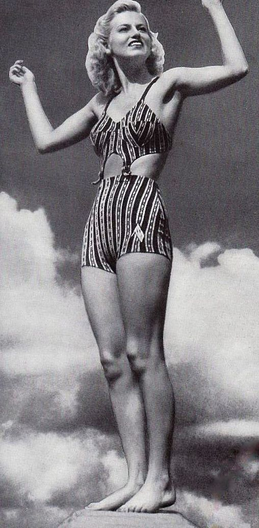 8e7a1d9a64 1940 s vintage bathing suit  bikini. 1941