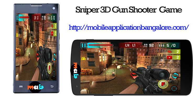 Sniper 3D is a kind of Action apps for Android. Ready to have FUN? Download now the best shooting game for free! http://mobileapplicationbangalore.com/sniper-3d-gun-shooter-free-shooting-game/