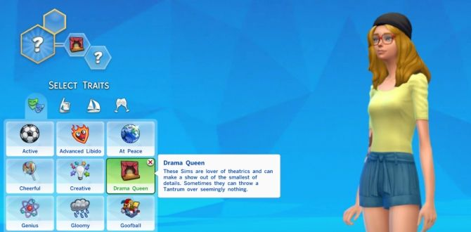 Drama Queen Trait by Thedarkgod at Mod The Sims • Sims 4 Updates