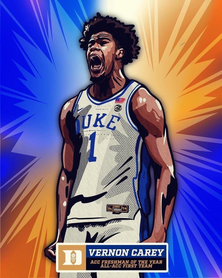 Pin by Chris Schell on Duke Basketball Vernon Carey Jr