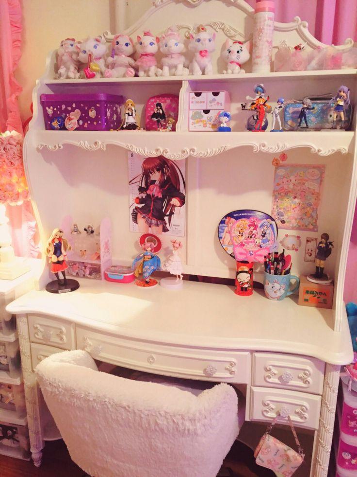 Look at cute otaku rooms and merchandise