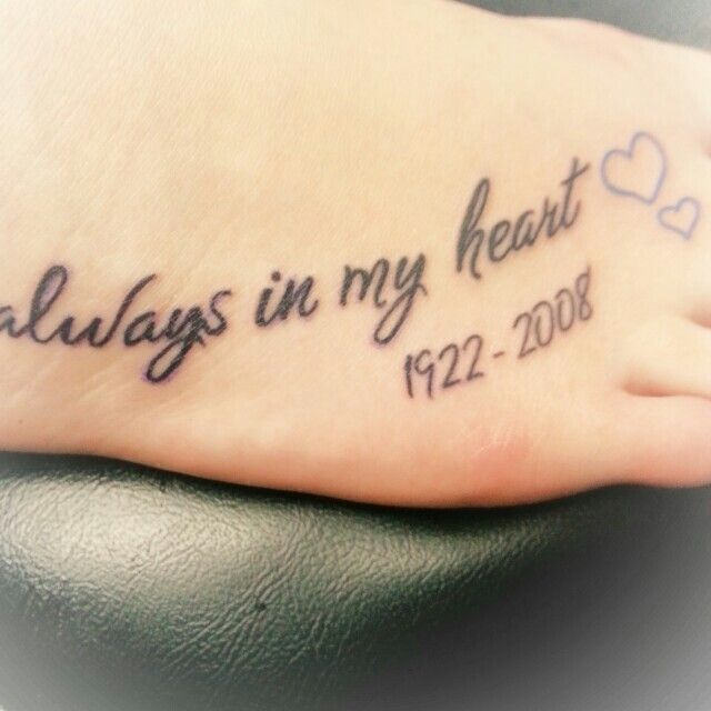 In memory of my papa <3