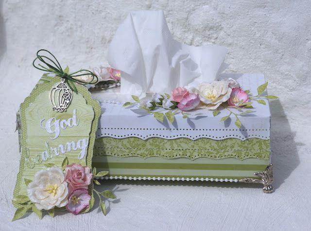 Mitt Lille Papirverksted: God Bedring med Kleenex