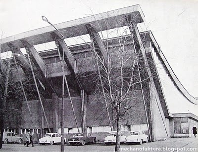 Baildon sports hall in Katowice, Poland. Sadly demolished couple of years ago